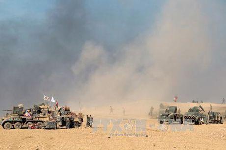 Quan chinh phu Iraq giao tranh ac liet voi IS tai Mosul - Anh 1