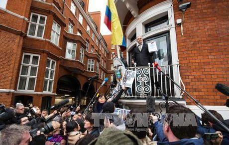 Thuy Dien cong bo thoi gian tham van nguoi sang lap WikiLeaks - Anh 1