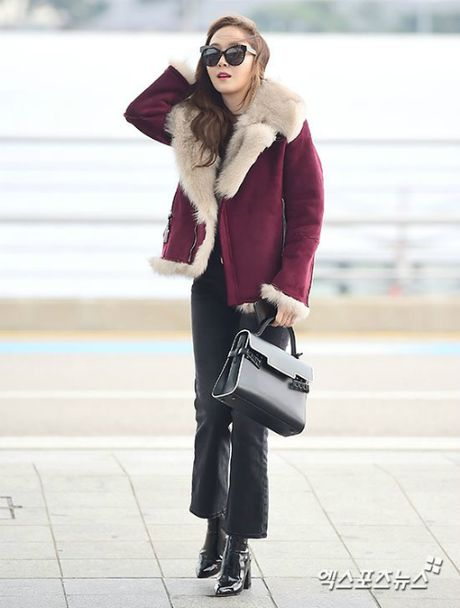 Jessica do style cung SNSD, Chae Yeon phoi do che chan tho - Anh 2