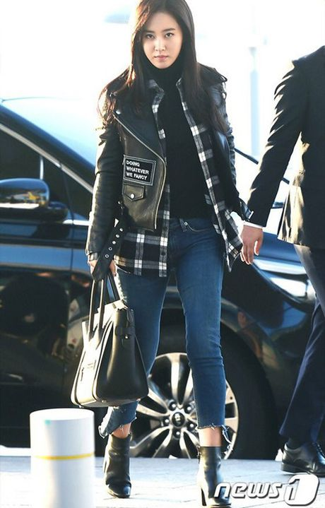 Jessica do style cung SNSD, Chae Yeon phoi do che chan tho - Anh 5