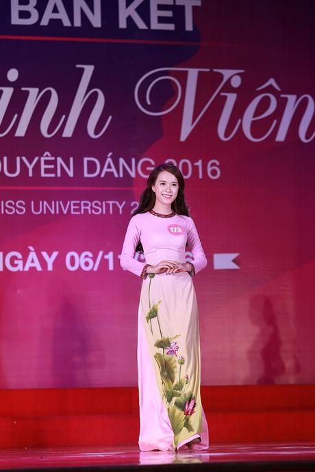 Top 10 thi sinh MB vao chung ket 'Nu sinh vien VN duyen dang 2016' - Anh 11