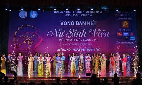 Top 10 thi sinh MB vao chung ket 'Nu sinh vien VN duyen dang 2016' - Anh 1