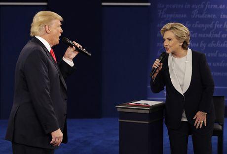Bau cu My: Mau thuan giua cac cuoc tham do ve Donald Trump va Hillary Clinton - Anh 1