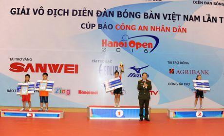 Be mac giai vo dich Dien dan bong ban Viet Nam tranh Cup Bao CAND lan thu 10 - Anh 11