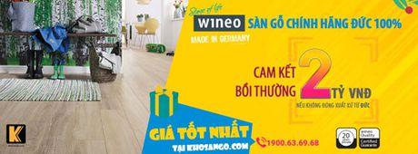 San go Wineo cua Duc: Xu huong moi trong viec lua chon vat lieu lat san - Anh 1