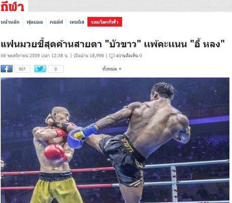 """Bao Thai, Trung Quoc: Yilong thang """"ban"""", Buakaw bi """"dinh don"""" - Anh 1"""