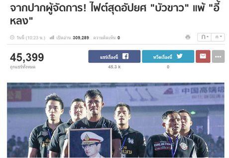 """Bao Thai, Trung Quoc: Yilong thang """"ban"""", Buakaw bi """"dinh don"""" - Anh 3"""