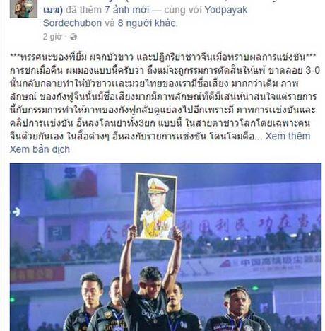 """Bao Thai, Trung Quoc: Yilong thang """"ban"""", Buakaw bi """"dinh don"""" - Anh 8"""