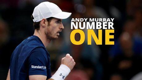 BXH tennis 7/11: Murray ung dung ngoi so 1, Hoang Nam tien gan top 600 - Anh 1