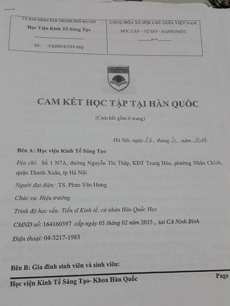 Hoc vien Kinh te Sang tao bi to 'an chan' tien hoc vien? - Anh 2