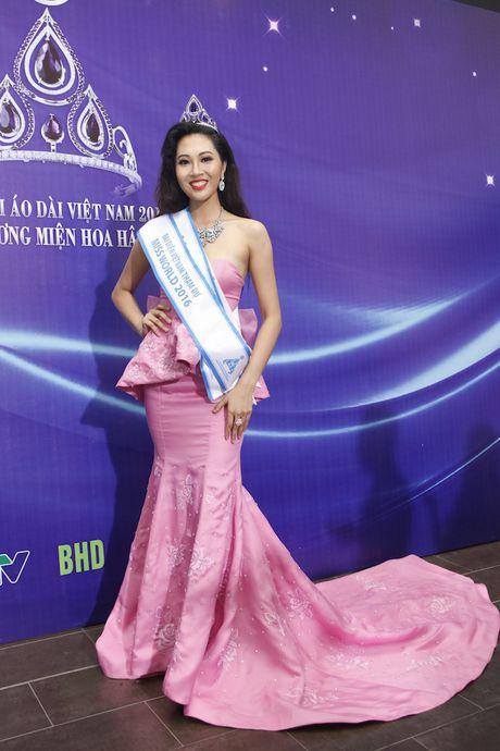 Can canh nhan sac nguoi dep dai dien Viet tham du Hoa hau the gioi 2016 - Anh 1