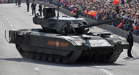 Tinh bao Anh danh gia cao xe tang T-14 Armata cua Nga - Anh 1