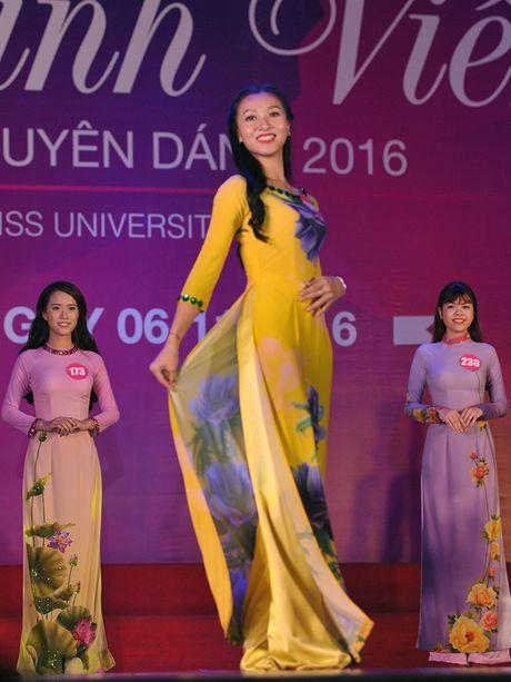 Nu sinh Bac bo khoe net yeu kieu tai ban ket VMU 2016 - Anh 9