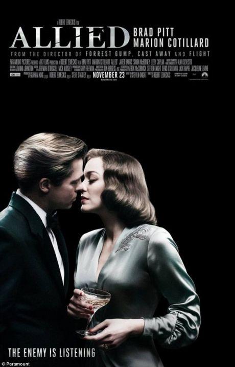 Brad Pitt khong quang ba phim tinh cam moi vi lum xum ly di - Anh 2