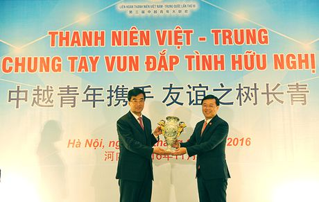 Tang cuong hoat dong giao luu hop tac thanh nien Viet - Trung - Anh 1
