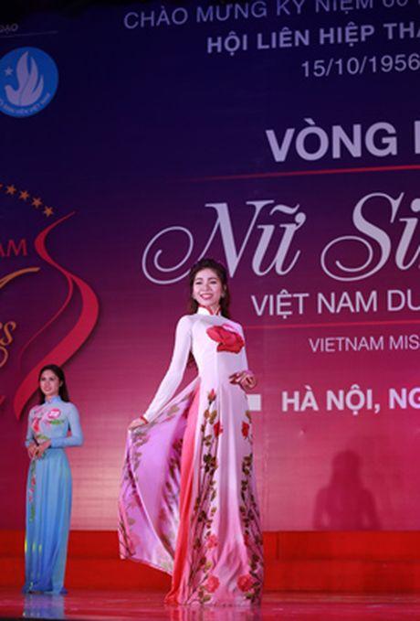 10 thi sinh mien Bac vao vong Chung ket 'Nu sinh vien Viet Nam duyen dang 2016' - Anh 1
