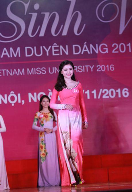 10 thi sinh mien Bac vao vong Chung ket 'Nu sinh vien Viet Nam duyen dang 2016' - Anh 2