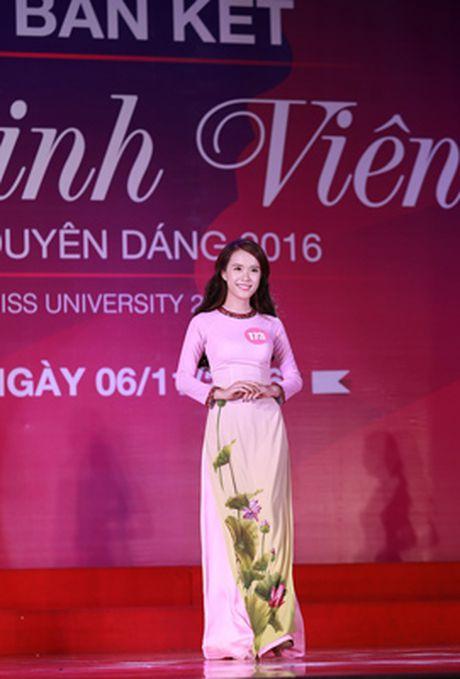 10 thi sinh mien Bac vao vong Chung ket 'Nu sinh vien Viet Nam duyen dang 2016' - Anh 3