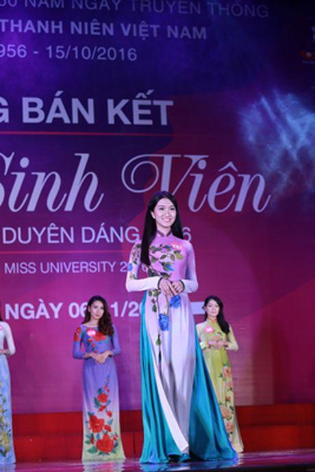 10 thi sinh mien Bac vao vong Chung ket 'Nu sinh vien Viet Nam duyen dang 2016' - Anh 4