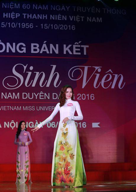 10 thi sinh mien Bac vao vong Chung ket 'Nu sinh vien Viet Nam duyen dang 2016' - Anh 5
