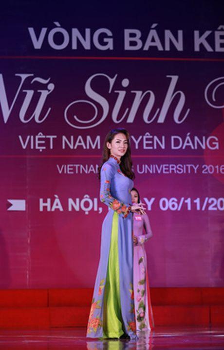 10 thi sinh mien Bac vao vong Chung ket 'Nu sinh vien Viet Nam duyen dang 2016' - Anh 6