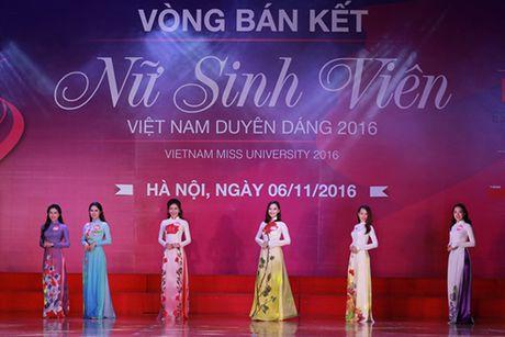 10 thi sinh mien Bac vao vong Chung ket 'Nu sinh vien Viet Nam duyen dang 2016' - Anh 7