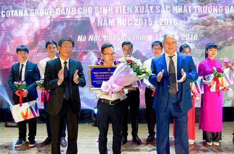 Trao giai CSC 2016 cho sinh vien truong Dai hoc Xay dung - Anh 1