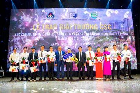 Trao giai CSC 2016 cho sinh vien truong Dai hoc Xay dung - Anh 2