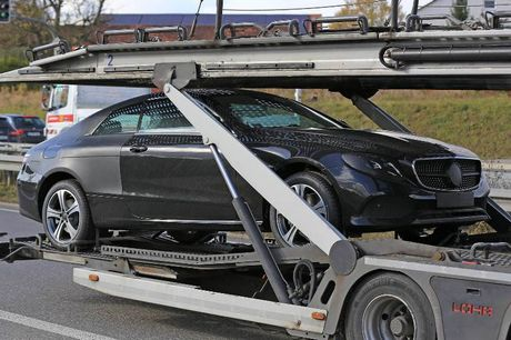Mercedes-Benz trinh lang E-Class Coupe 2018 vao nam sau - Anh 1