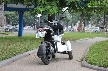 Chi tiet xe dien 3 banh can bang gia 49 trieu dong o Ha Noi - Anh 28