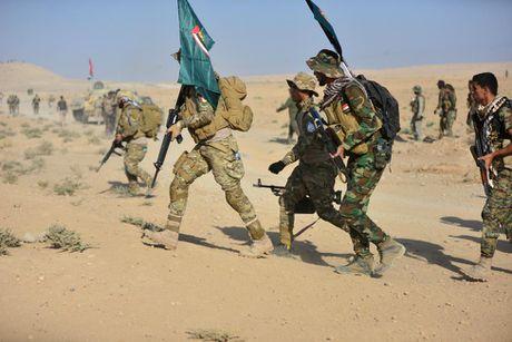 Giao tranh ac liet o tuyen dau 'chao lua' Mosul - Anh 10