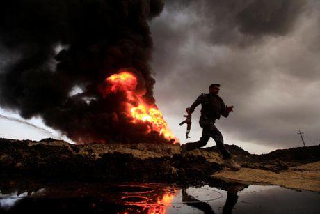 Giao tranh ac liet o tuyen dau 'chao lua' Mosul - Anh 1