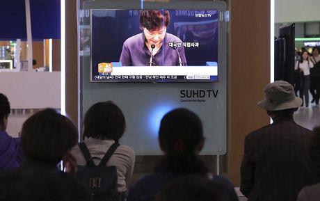 Muc tin nhiem cua Tong thong Han Quoc Park Geun-hye chi con 2% - Anh 1