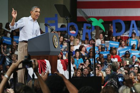 Obama: Ba Clinton chi can thang o bang Florida - Anh 1