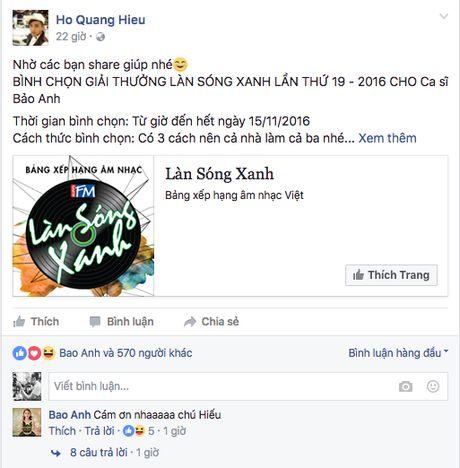 Nhung man doi dap 'sieu dang yeu' tren facebook cua cac cap doi hot nhat Vbiz - Anh 3