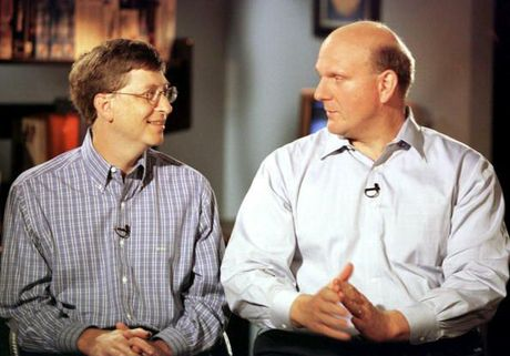 Smartphone da huy hoai quan he giua Steve Ballmer voi Bill Gates - Anh 1