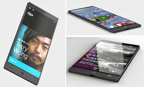 Anh dien thoai Surface dep nhu mo cua Microsoft - Anh 1