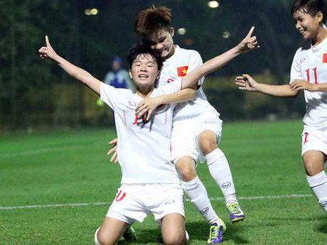 Tuyen nu U-19 Viet Nam gianh ve du giai U-19 chau A - Anh 1