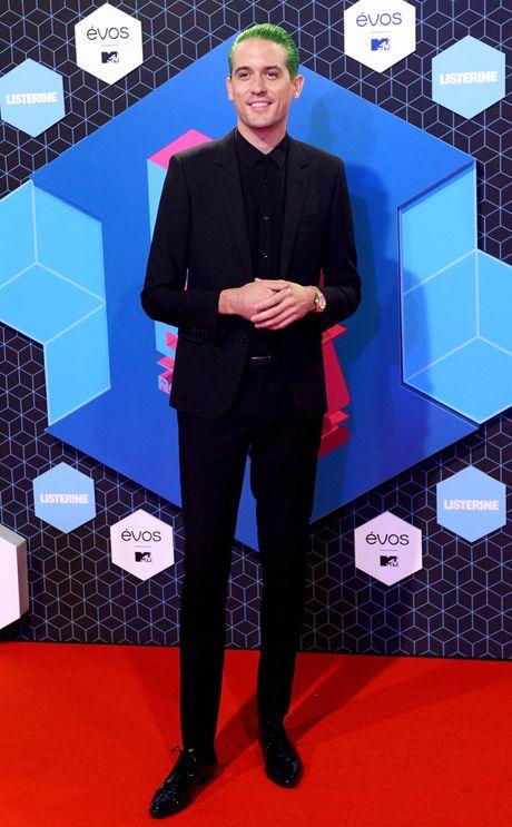Nguoi dep do mot xuyen thau tren tham do MTV EMA 2016 - Anh 15
