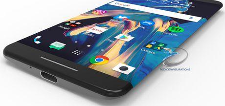 Tin don HTC 11 dung man hinh cong, thiet ke khong nut bam - Anh 1