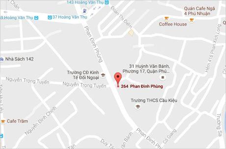 Xe may boc chay ngun ngut giua pho Sai Gon - Anh 2