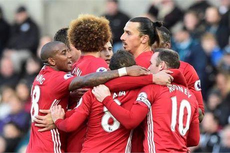 Video ban thang Swansea 1-3 MU - Anh 1