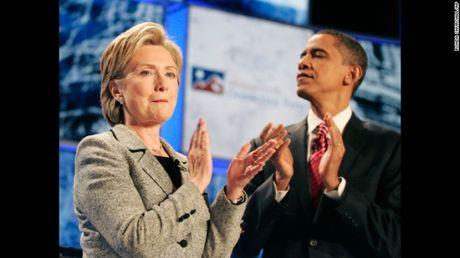 Ba Clinton thang the, vuot nguong ung ho cua Tong thong Obama - Anh 1
