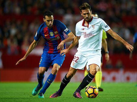 Chum anh Barca ha Sevilla nho su thang hoa cua Messi - Anh 1