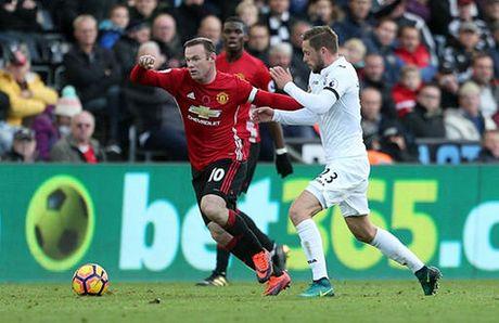 Cham diem Swansea 1-3 MU: Ibrahimovic va Pogba 'ruc sang' - Anh 7