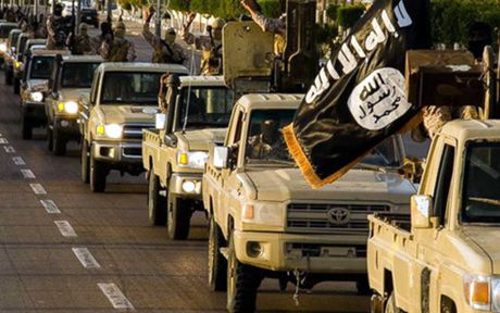 My: IS bi danh bai tai thanh pho Sirte cua Libya - Anh 1