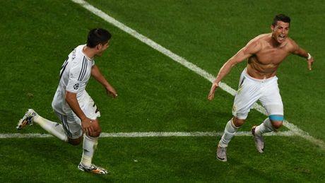 Nhung khoanh khac an tuong nhat cua Ronaldo trong mau ao Real - Anh 10