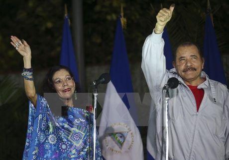 Nicaragua: Tong thong Daniel Ortega tai dac cu nhiem ky thu 4 - Anh 1