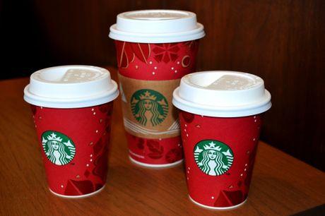 Starbucks ra mat nhieu san pham doc dao cho mua Giang Sinh - Anh 2