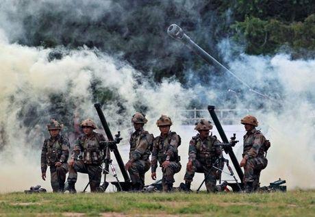 An Do-Bangladesh tap tran chung de tang cuong chong khung bo - Anh 1